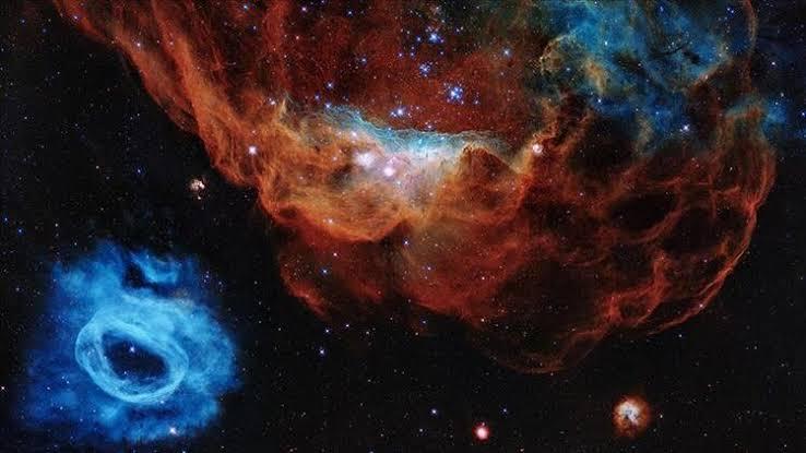 NGC 2014 ve NGC 2020 kozmos