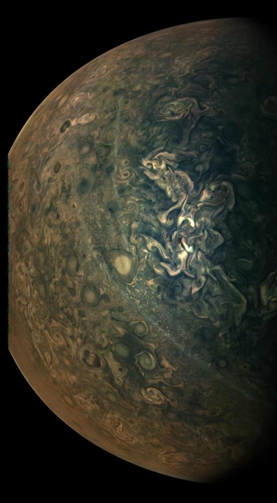 Jüpiter net fotoğrafı