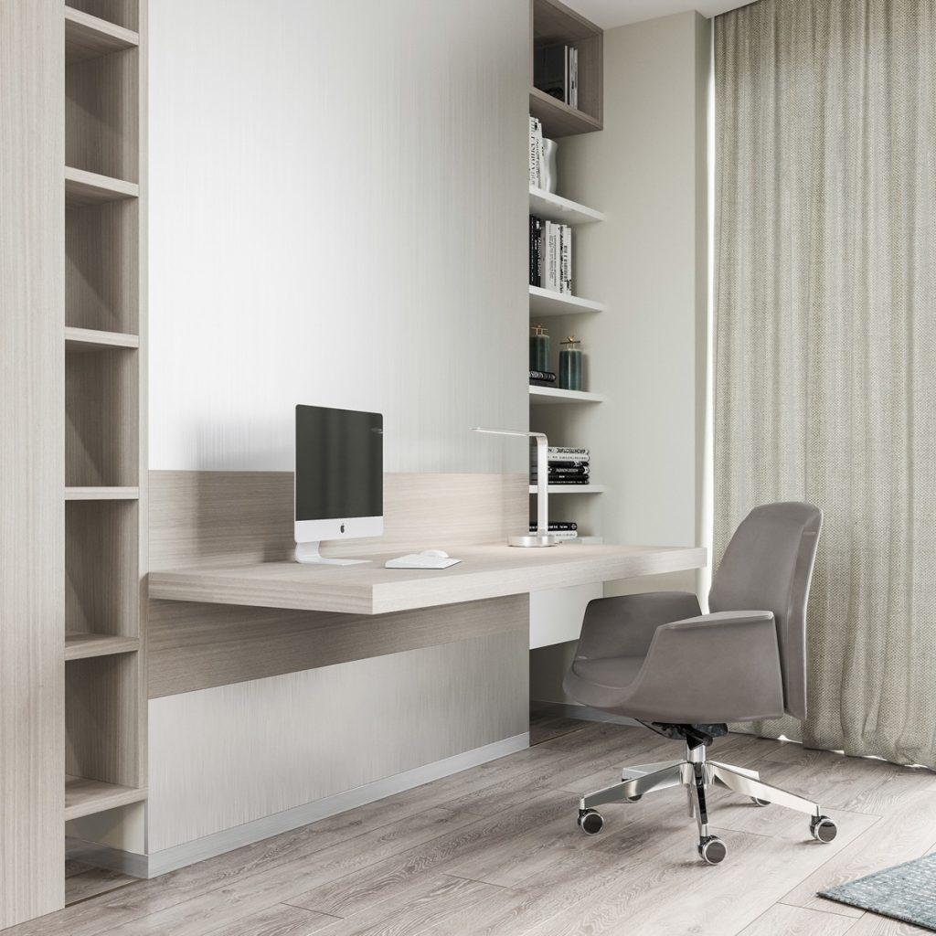 minimal home ofis tasarımı