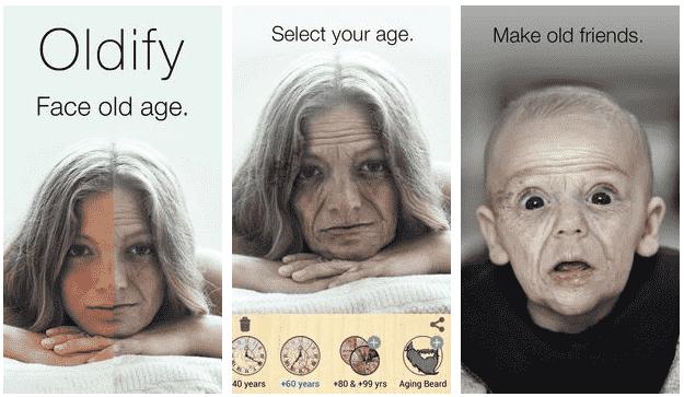 oldify yaşlandırma uygulaması 2021