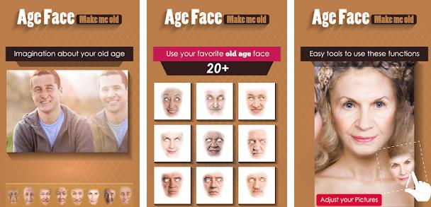 age face yaşlandırma uygulaması apk indir