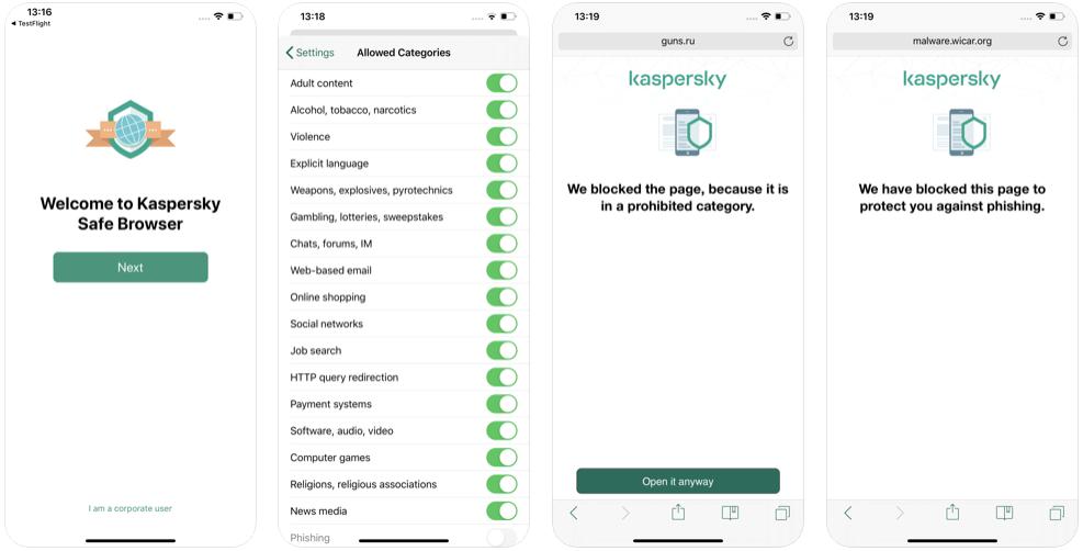 Kaspersky İos ve Android İçin Antivirüs