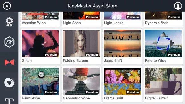 kinemaster android ve ios video düzenleme programı