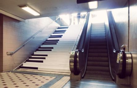 Piyano merdiven Deneyi