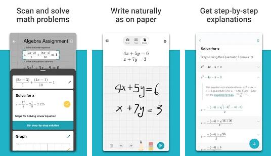 microsoft math uygulaması