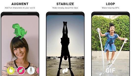 motion stills - android için en iyi canlı fotoğraf çekme uygulaması