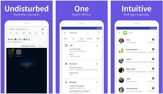 notisave bildirim kaydetme uygulaması android
