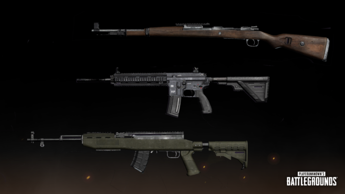 pubg silahları