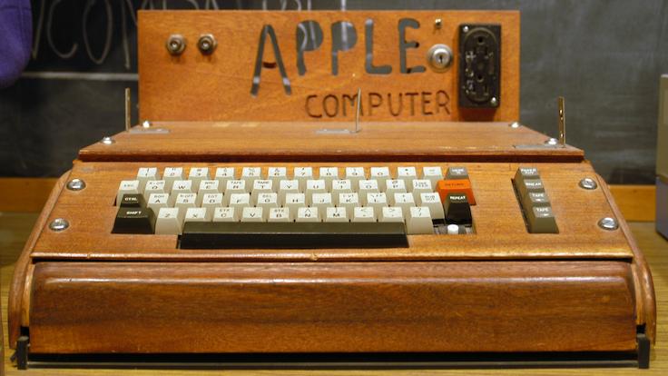Apple ilk kişisel bilgisayar