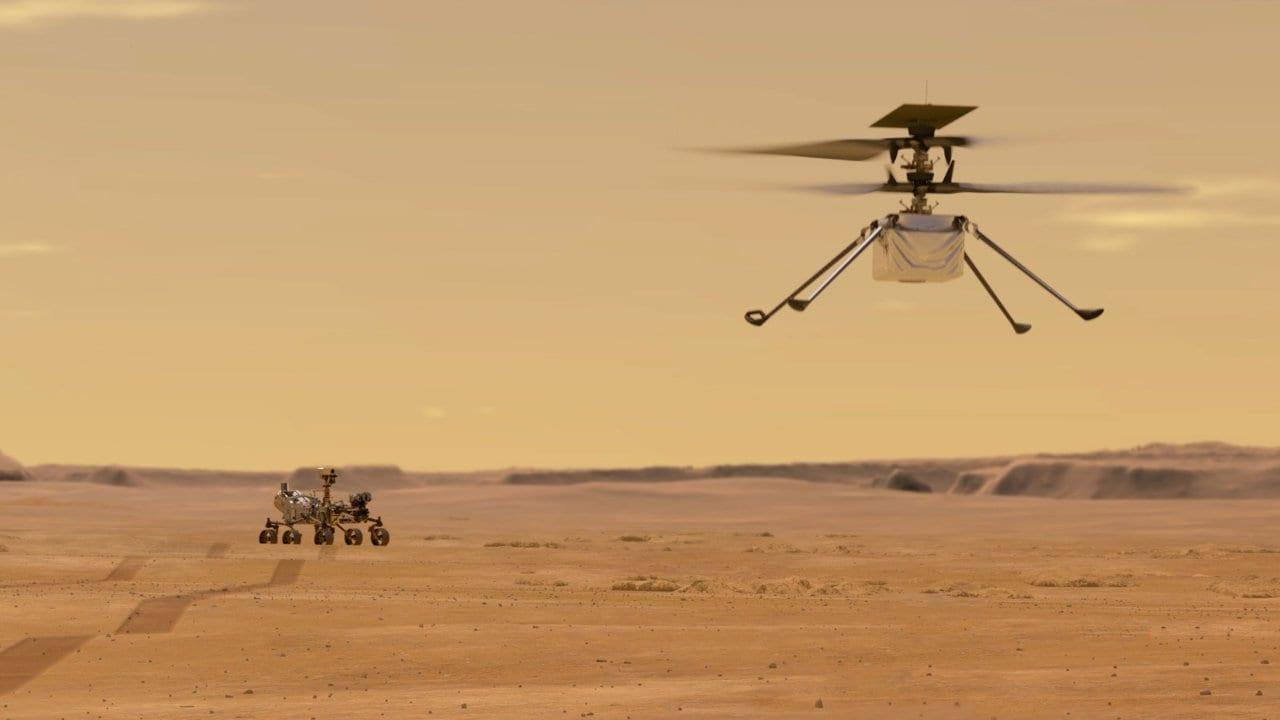 mars-helikopteri-uzayda-sarj-edildi
