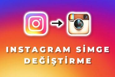 instagram simge değiştirme