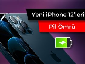 iphone 12erin pil ömrü ve batarya performansları