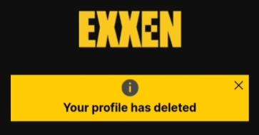 exxen üyelik silme işlemi