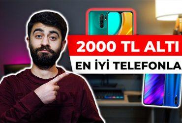 2000 tl altı en iyi telefonlar 2021