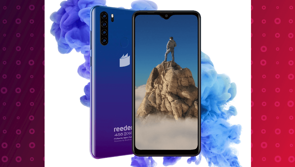 2000 tl altı en iyi telefonlar - reeder p13 max blue